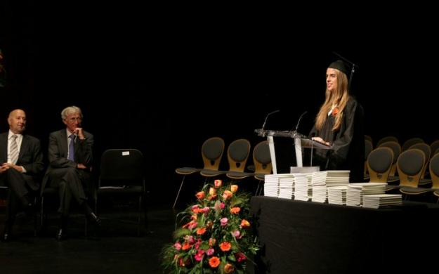 Anna speech graduation
