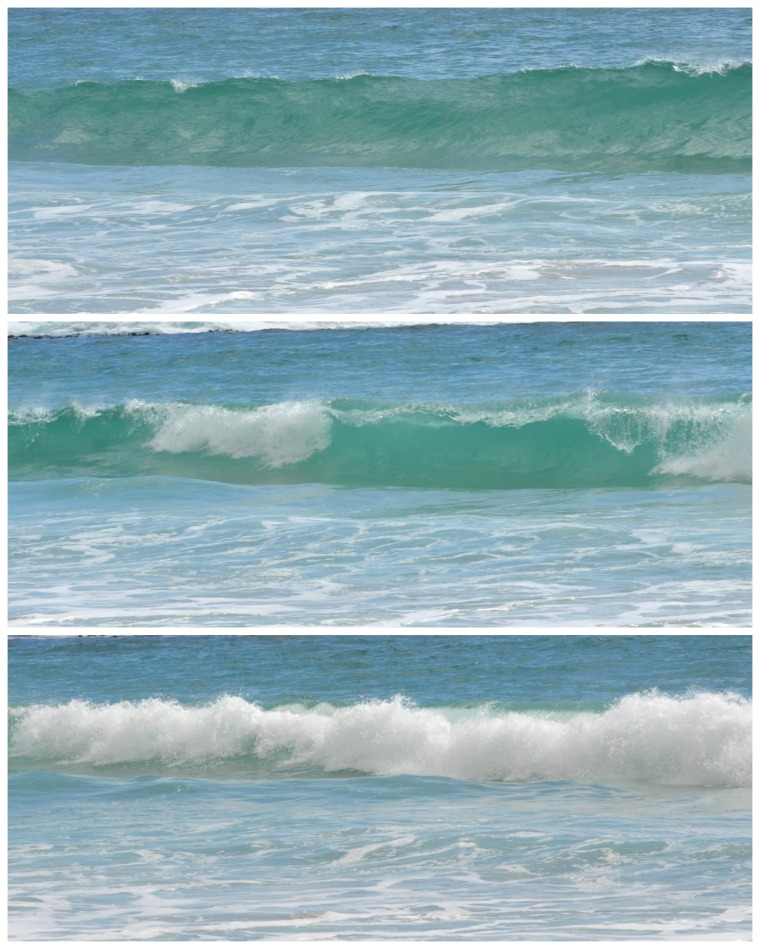 Waves collage
